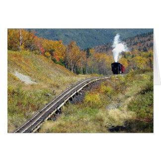 Birthday Card  - Cogg Railroad, Mount Washington
