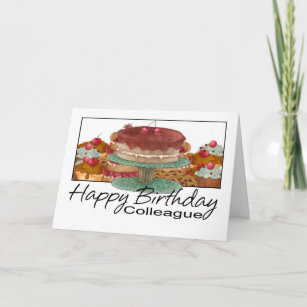 For Colleague Birthday Cards