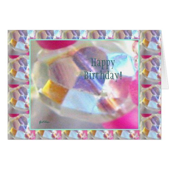 Birthday Card - Fairies Light 3