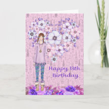 13 Year Old Girl Cards