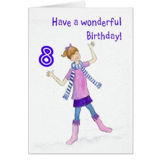 Birthday Card for 8 yr old Girl
