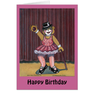 Birthday Card for a Dancer