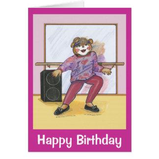 Birthday Card for a Dancer