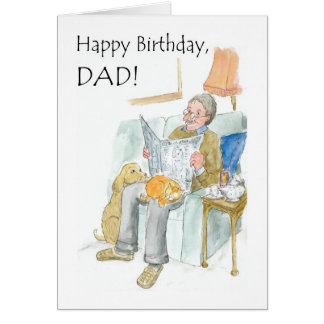 Birthday Card for a Father