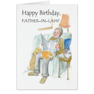 Birthday Card for a Father-in-law