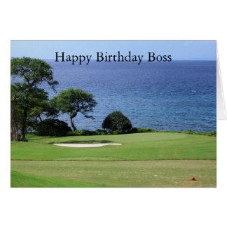 Birthday Card For Boss