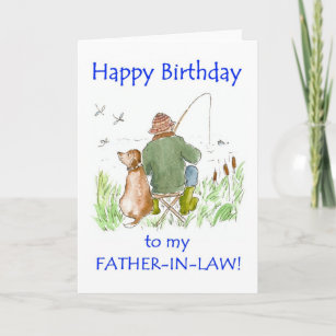 Birthday Card For Father In Law