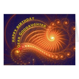 Birthday card for Goddaughter