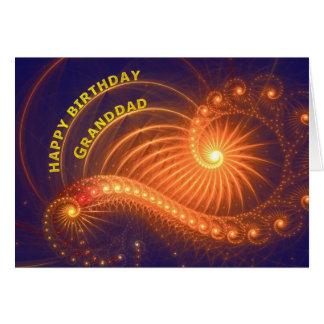 Birthday card for granddad