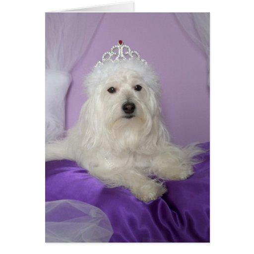 Birthday Card for Granddaughter -- Princess