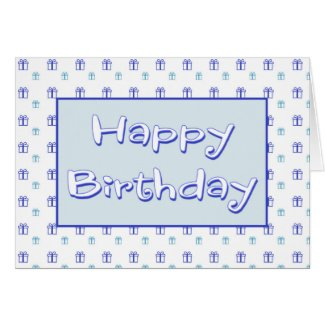 Birthday Card For Him Greeting Card