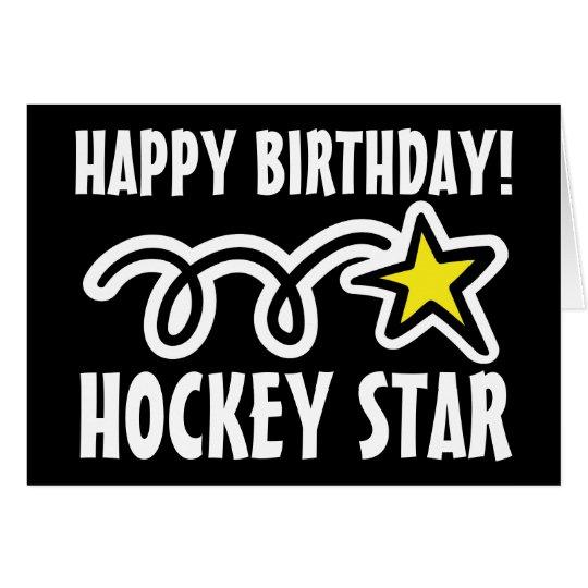 Birthday card for hockey player – Hockey Birthday Card