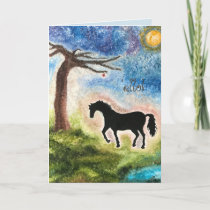 Birthday Card for Horse Lovers
