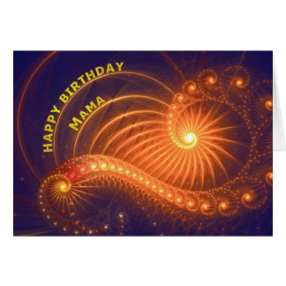Birthday card for mama