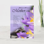"Birthday Card for Mother, Mother Card with flowers<br><div class=""desc"">Birthday Card for Mother,  Mother Card with flowers</div>"