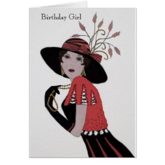 "Birthday Card for ""My Lady"""