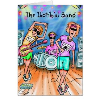 Birthday Card for Runner - Iliotibial Band