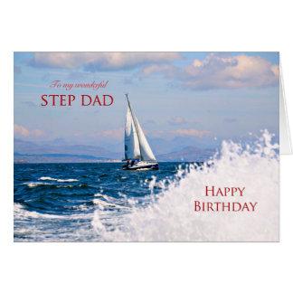 Birthday card for step-dad