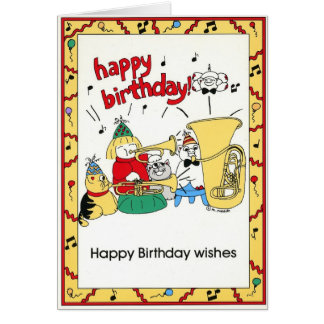 BIRTHDAY  Card - from Group