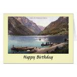 Birthday Card -  Glarus, Switzerland