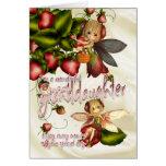 Birthday Card - Great Granddaughter - Moonies Cuti