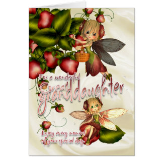 Birthday Card - Great Granddaughter - Moonies Cuti