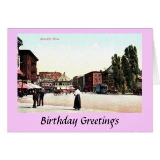 Birthday Card - Haverhill, Mass