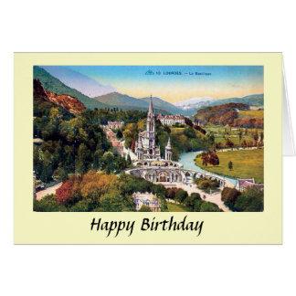 Birthday Card - Lourdes, Hautes-Pyrénées