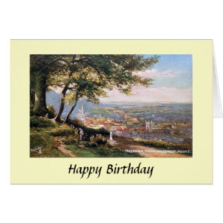 Birthday Card - Malvern, Worcestershire