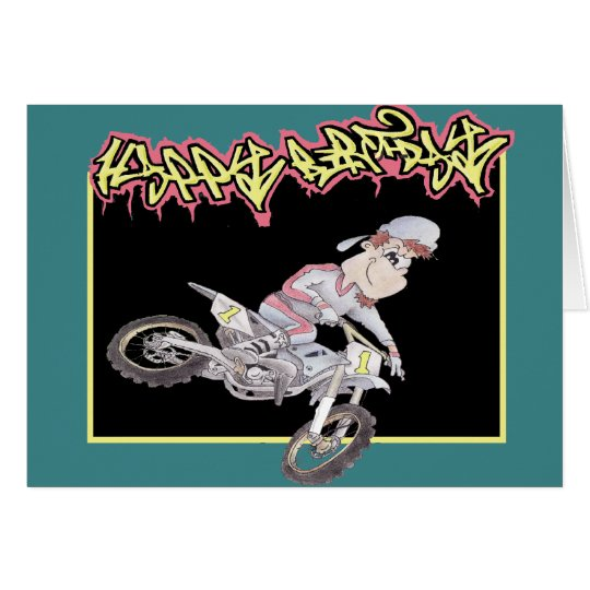 Birthday Card Motocross – Motocross Birthday Cards