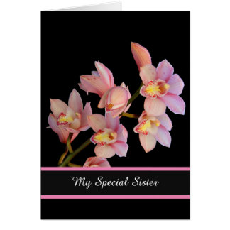 Birthday Card-My Special Sister Greeting Card