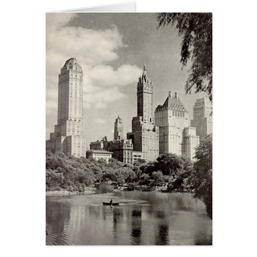 Birthday Card, New York City, Central Park Greeting Card