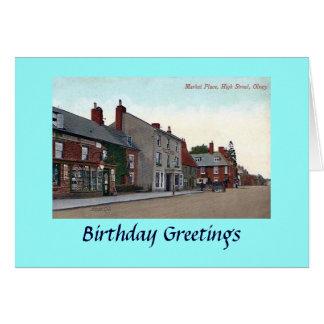 Birthday Card - Olney, Bucks