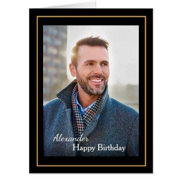 Birthday Card Photo Custom Big 18 x 24 Inches