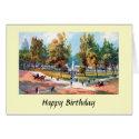 Birthday Card - Portland, Oregon - The Plaza