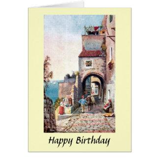 Birthday Card - San Remo, Italy