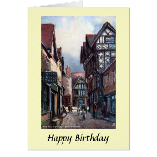 Birthday Card - Stafford, England