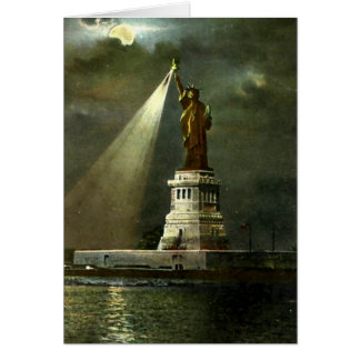 Birthday Card - Statue of Liberty Cards