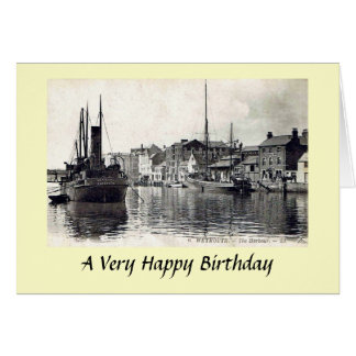 Birthday Card - Weymouth, Dorset