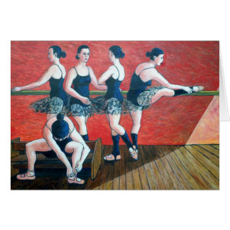 Birthday Card with dancers