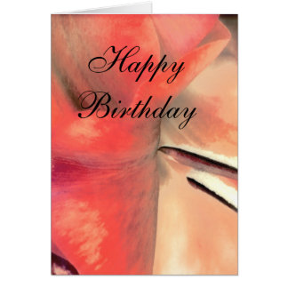 Birthday Card with Love Sentiment