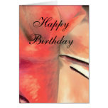 Birthday Card with Love Sentiment Card