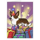 Birthday Cardigan Welsh Corgi Greeting Card