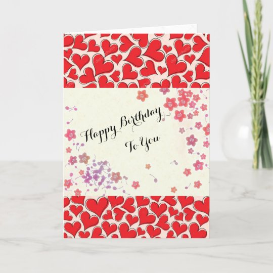 Fine Birthday Cards Zazzle Com Personalised Birthday Cards Rectzonderlifede