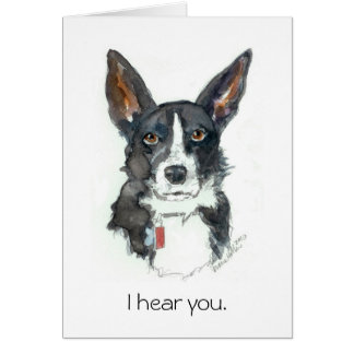 """Birthday Cards 4 Cool People: """"I HEAR YOU!"""" b'day"""