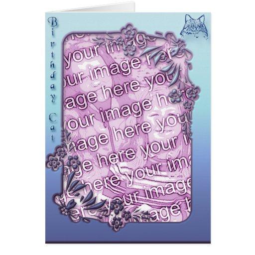 Birthday cat4 card