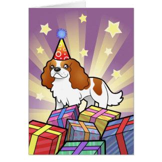 Birthday Cavalier King Charles Spaniel Cards