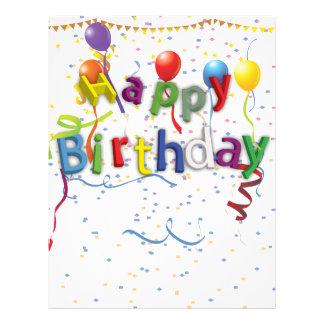Birthday Celebration 3 Flyer