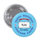 Birthday Celebration Pinback Buttons