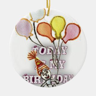 Birthday Ceramic Ornament